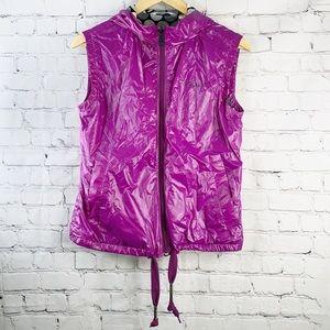 Adidas Originals | NWT Violet Hooded Vest Jacket